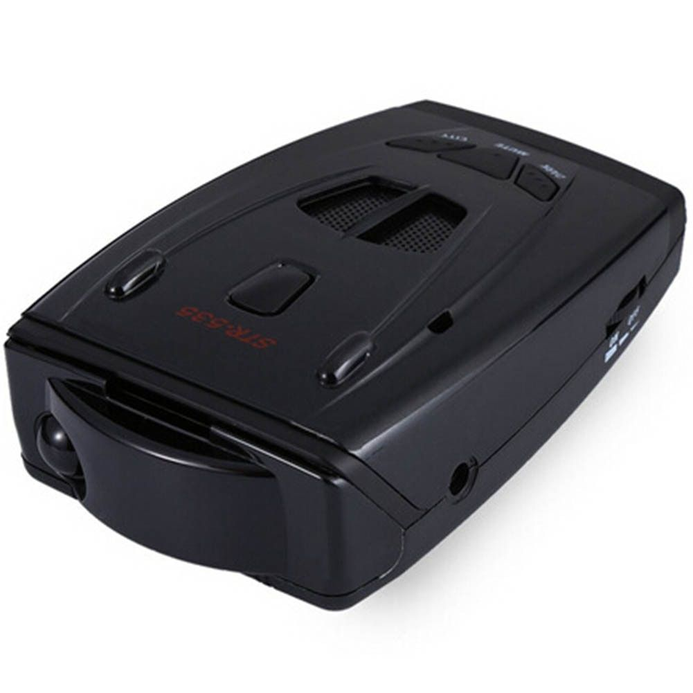 DiscountHEH STR535 Anti Radar Car Radar Detector Laser Radar Detector Voice Strelka Alarm System for Russian Car-Detector