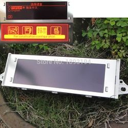 12 Pin voiture Rouge écran support USB et Bluetooth 4 menu affichage rouge moniteur pour Peugeot 307 407 408 citroen C4 C5