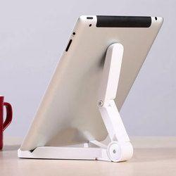 Señora Win universal plegable teléfono Tablets ajustable escritorio soporte trípode estabilidad para iPhone IPad tabla pad