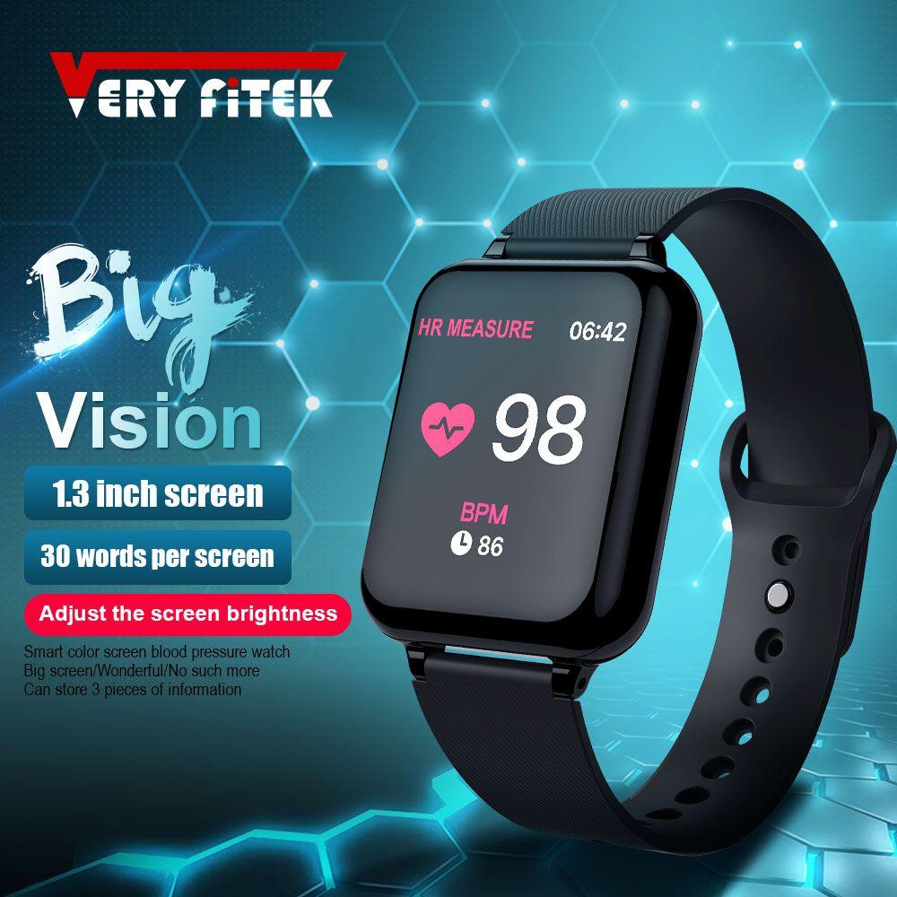 VERYFiTEK AW4B montre intelligente pression artérielle oxygène Fitness Bracelet montre moniteur de fréquence cardiaque IP67 hommes femmes Sport montre intelligente