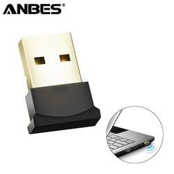 USB Bluetooth адаптер V4.0 CSR двухрежимный беспроводной bluetooth-заглушки музыкальный звуковой приемник адаптер Bluetooth передатчик для ПК