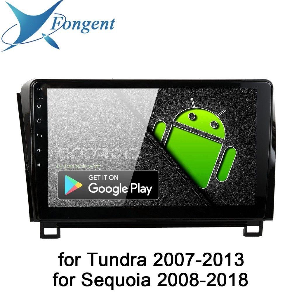 Android 9.0 Auto Radio Für Toyota Tundra 2007 2009 2010 2011 2012 2013 Sequoia 2008 2014 2015 2016 2017 2018 Multimedia 10,2 IPS