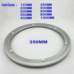 HQ H350 Dia 350 MM (14 Pouce) Calme et Lisse Solide En Aluminium Roulement Paresseux Susan Table À Manger