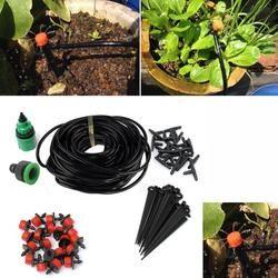 5 M 15 M 25 M DIY Micro Système D'irrigation Goutte À Goutte Automatique Plantes Arrosage Auto Jardin Tuyau Kits avec Connecteur jardin Arrosage Système