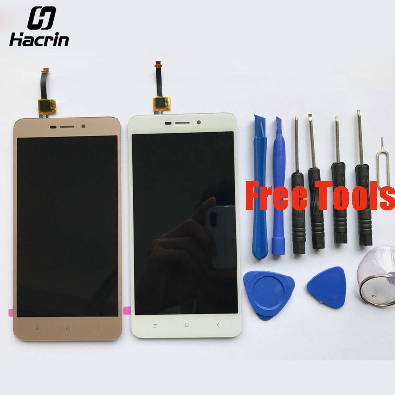 hacrin For Xiaomi Redmi 4A LCD Display + Touch Screen Digitizer Screen Panel Replacement For Xiaomi Redmi 4A Pro Global <font><b>Version</b></font>