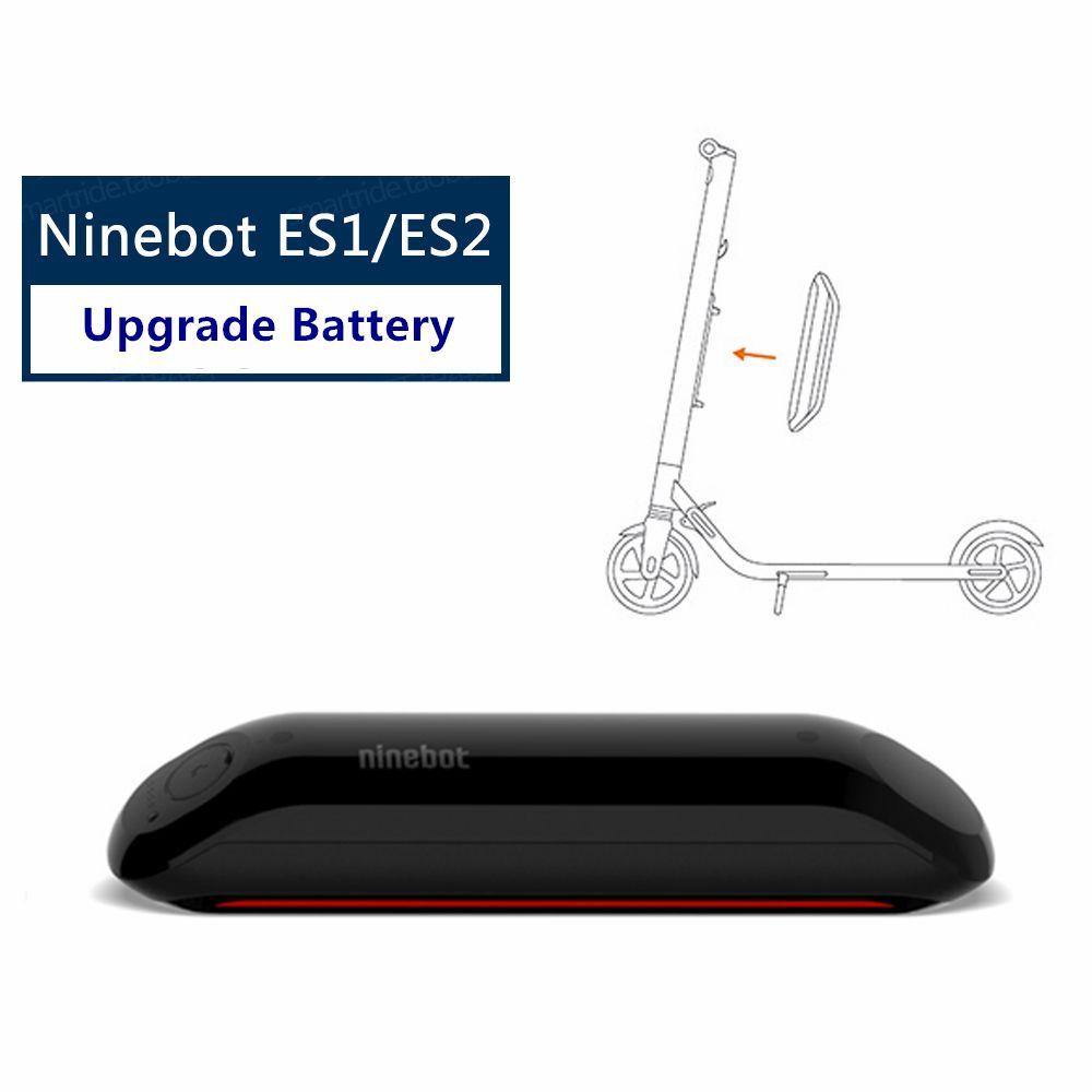Original Ninebot Upgrade Battery Kit for KickScooter ES1 ES2 Smart Electric Scooter foldable lightweight hover board skateboard