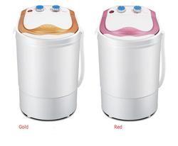 Freeshipping 300 w puissance Mini rondelle peut laver 4.0 kg vêtements + 300 puissance 3 kg sèche-unique baignoire top chargement wahser et sèche Semi automatique