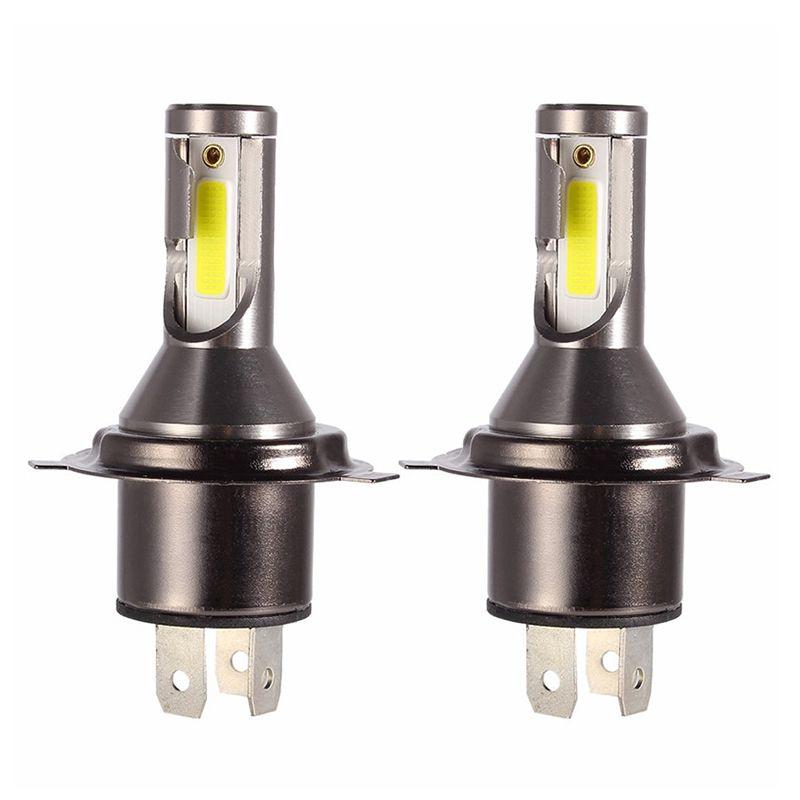 2 Pcs H4 LED Headlight Bulbs Conversion Kit 6000K 26000LM LED H4 lamps for Cars 110W 12V 24V Bright Fog Light Bulb for Auto