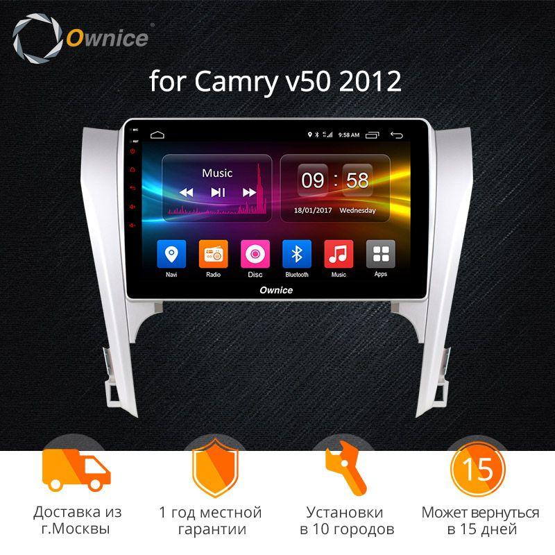 Ownice K1 K2 K3 10,1 Android 9.0 Auto DVD GPS Navi Für Toyota Camry 40 v50 v55 2007-2016 auto Stereo auf-board computer für auto
