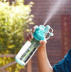 3 Colors Hot Sale Spray Sport Water Bottle Portable Plastic Bike Bicycle Shaker My Water Bottles 400ml/600ml