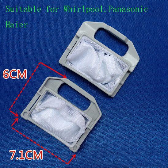 Machine à laver Partswater filtre sac tambour sac adapté pour Whirlpool Haier LG Panasonic