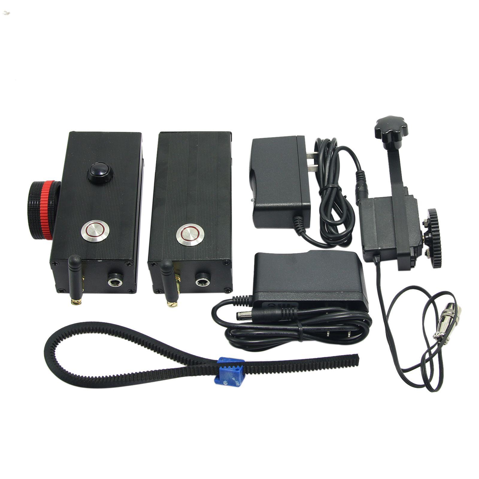 200m Single Channel Mini Wireless Follow Focus Gimbal Controller Limit+Follow Follow
