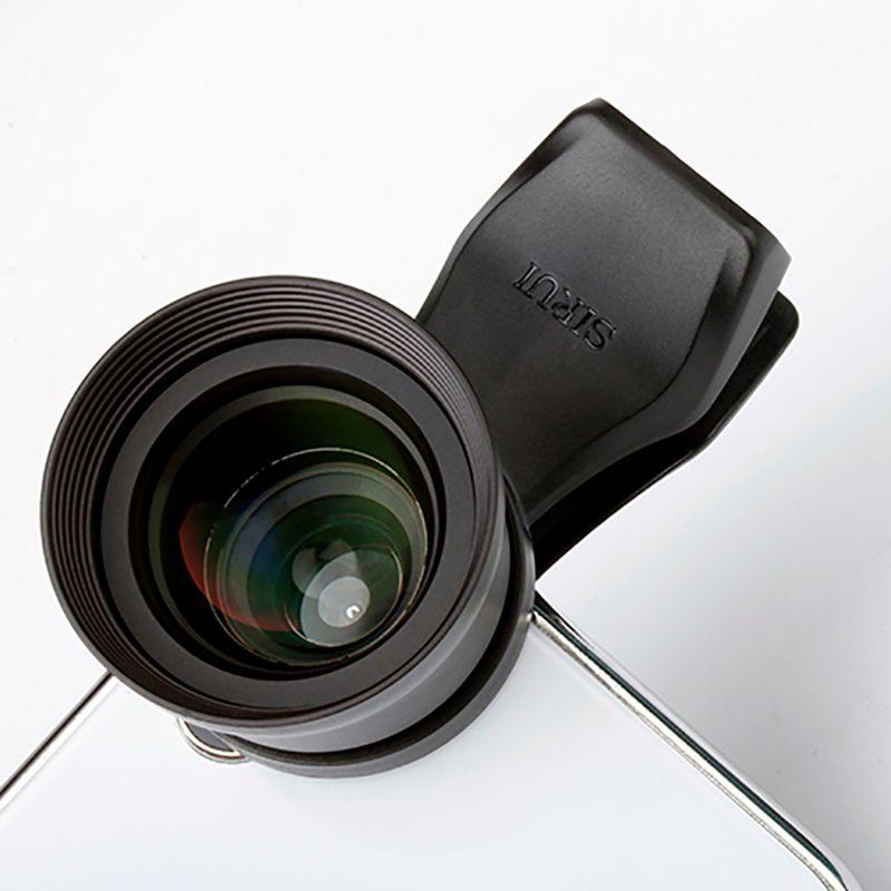Sirui 60mm téléobjectif Portrait téléphone portable lentille avec Clip HD 4K lentilles pour iPhone Max Xs X Pixel 3 Samsung S8 S9