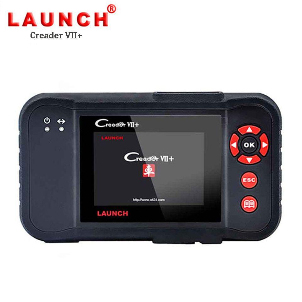 LAUNCH X431 Creader VII+ OBD2 Car Diagnostic Tool Auto Code Reader Scanner Engine Transmission ABS Airbag Creader VII Plus