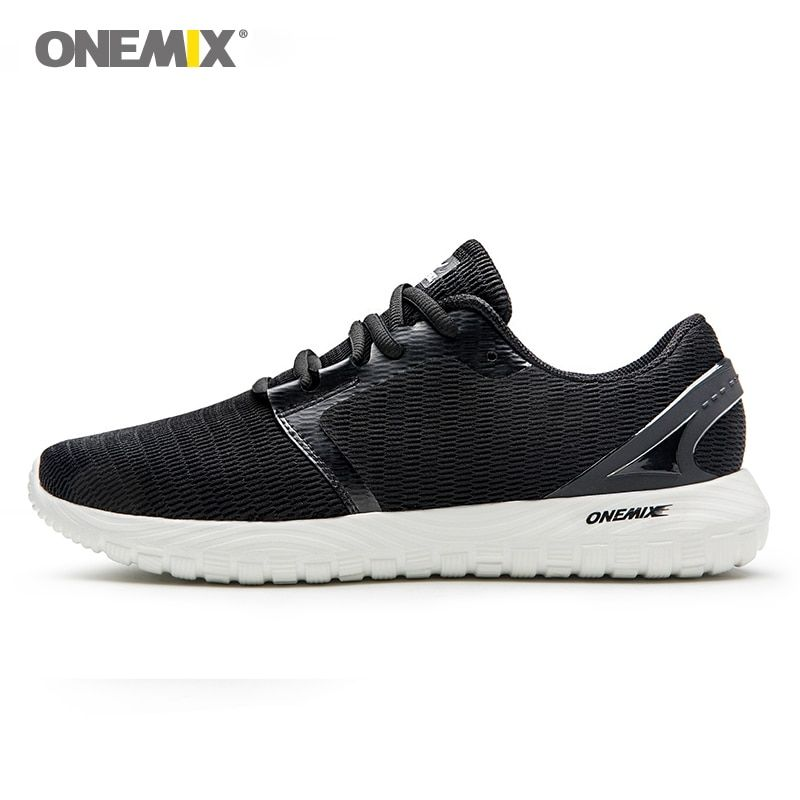 ONEMIX men's running shoes cool sneakers deodorant insole light soft comfortable sneakers for outdoor running hogging walking