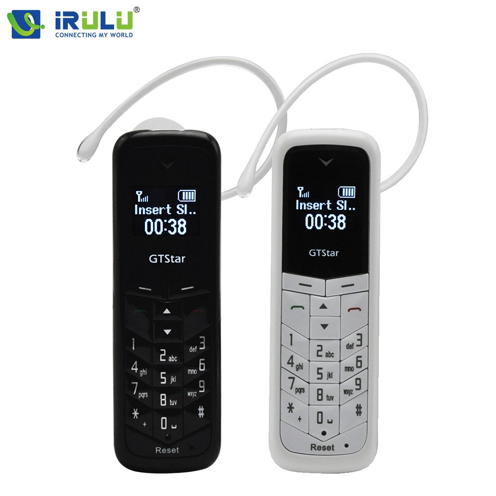 GT Star Brand Mini bluetooth handset phone BM50 0.66 inch Unlocked Mini Mobile Phone Bluetooth Earphone Dialer Single SIM Card