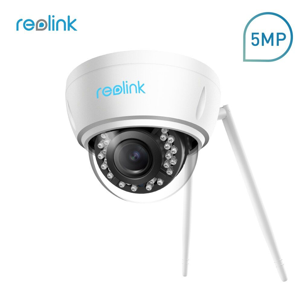 Reolink IP Camera 4MP/5MP WiFi 2.4G/5G 4x Optical Zoom Wireless Security Cam with Built-in Micro SD Card Slot RLC-422W