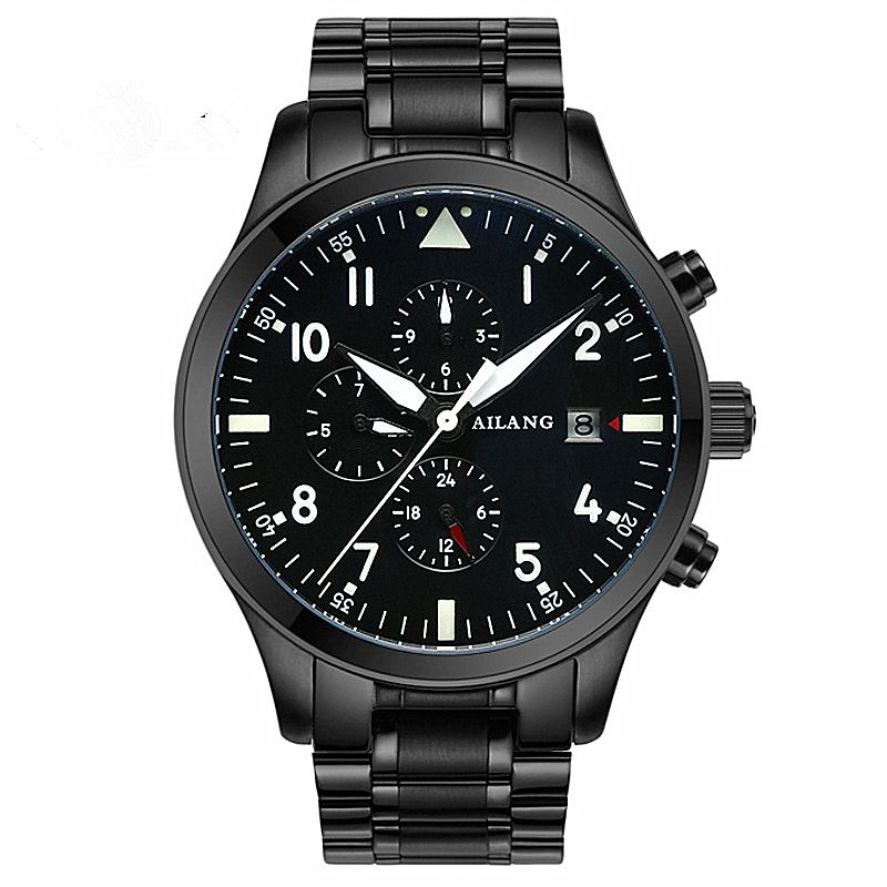 Famous Luxury brand Fashion Automatic Mechanical Watch Men Stainless steel Waterproof Calendar Sport Wrist Watch Relojes Hombre