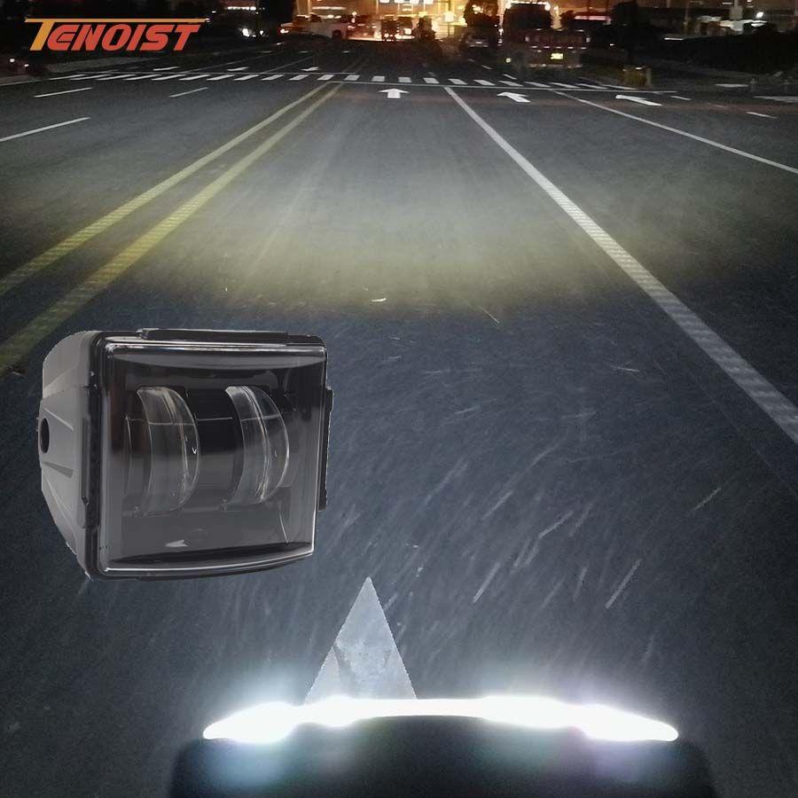 3.5 Inch 4D Lens 30W Roof Bumper A-Pillar Light For Wrangler F150 Car SUV Offroad Truck ATV Motorcycle 12V 24V
