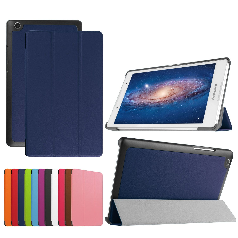 For Lenovo tab 3 8.0 Model TaB 3 -850F / 850M tablet case for lenovo tab 2 A8-50 A8 50 8.0 inch Case+Film+Stylus Pen