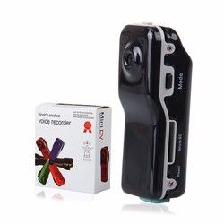 MD80 Mini DV Camcorder DVR Video Camera Webcam HD Cam Sports Helmet Bike Motorbike Camera Video Audio Recorder Support 16GB