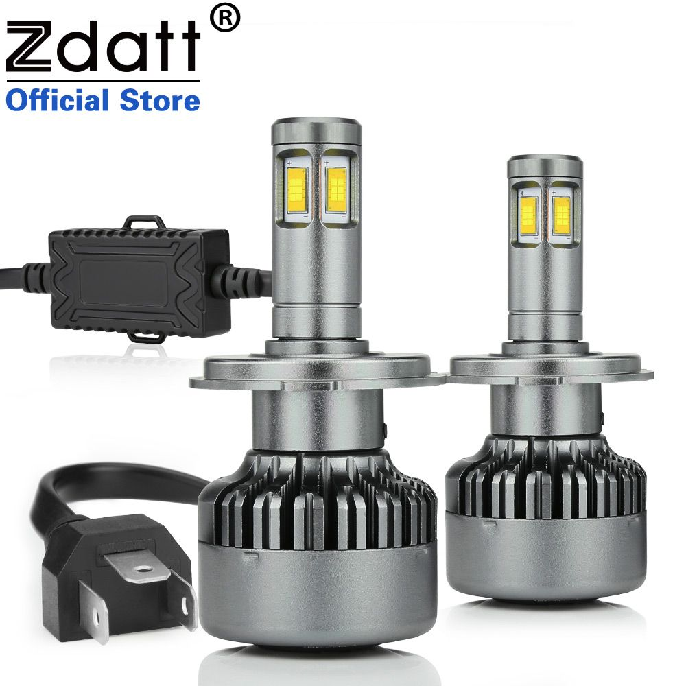 Zdatt CSP H4 Led Bulb 100W 14400LM Canbus Headlights H7 H8 H11 LED Lamp 9005 HB3 9006 HB4 LED Light Auto LED Light Automobiles