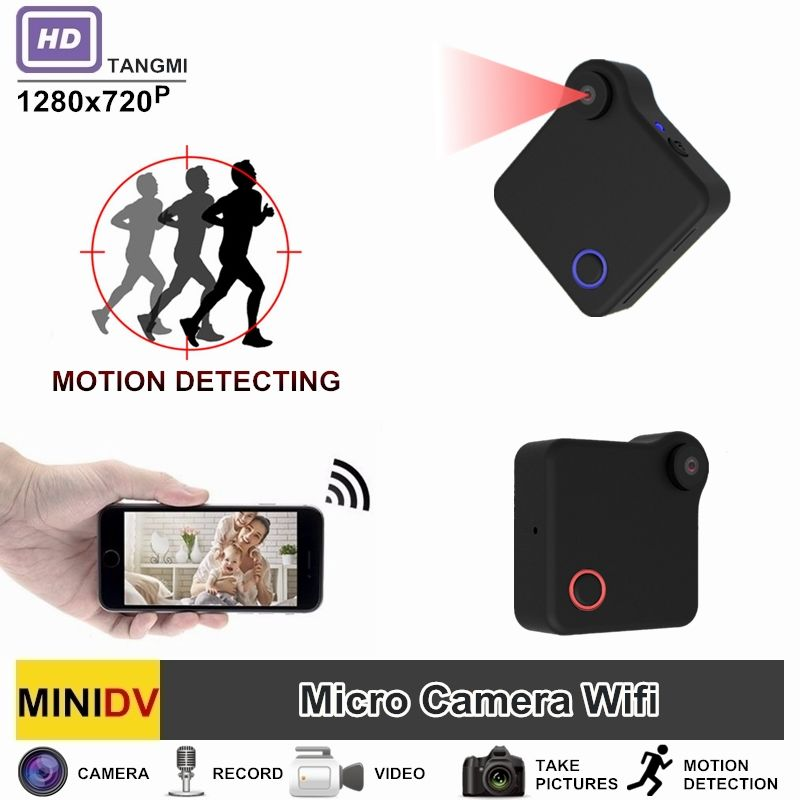 TANGMI C1 Full HD Video 720P DV DVR Mini Camera Wifi Wireless IP Micro Camcorder With Motion Sensor Best Portable Cam