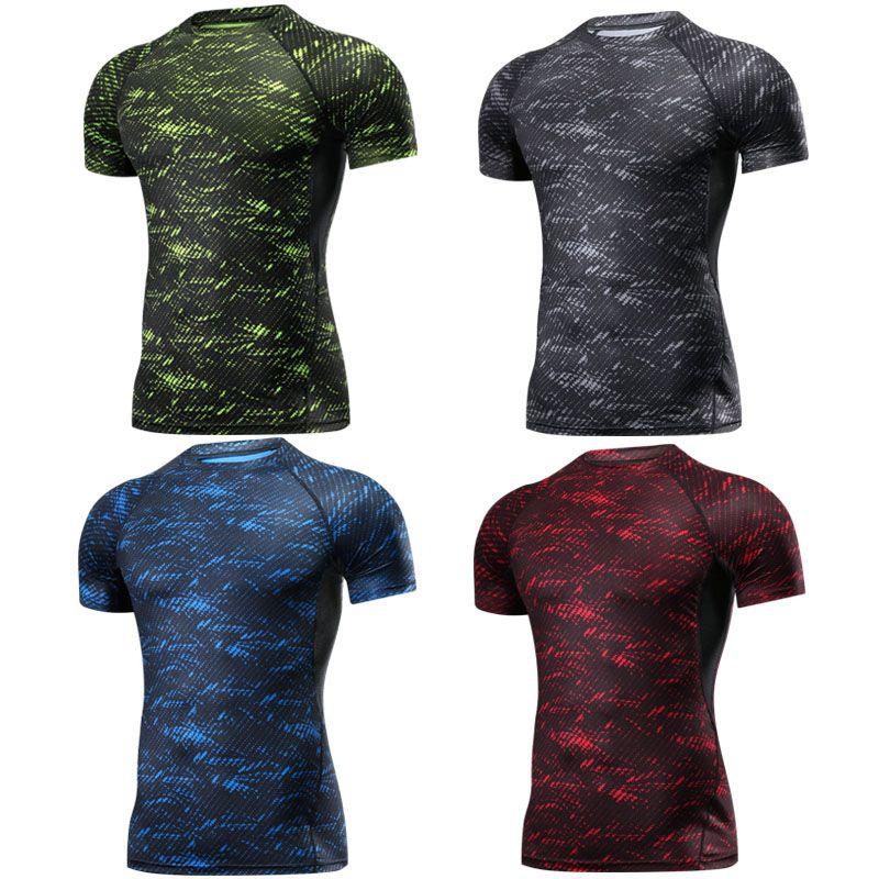 Boxe MMA t-shirt Rashguard MMA Gym t-shirt combat Arts martiaux Fitness entraînement Muay Thai t-shirt hommes Homme 4 couleurs