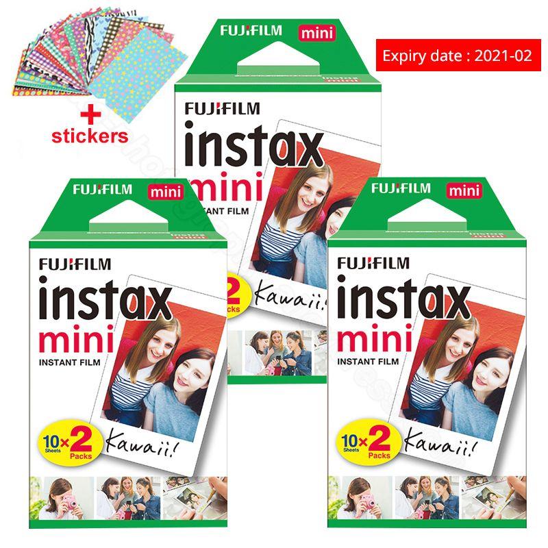 Fuji Fujifilm Instax Mini 9 Film papiers Photo pour Instax Mini 9 7s 8 90 70 25 55 instantané Polariod caméra partager SP-2 imprimante SP-1