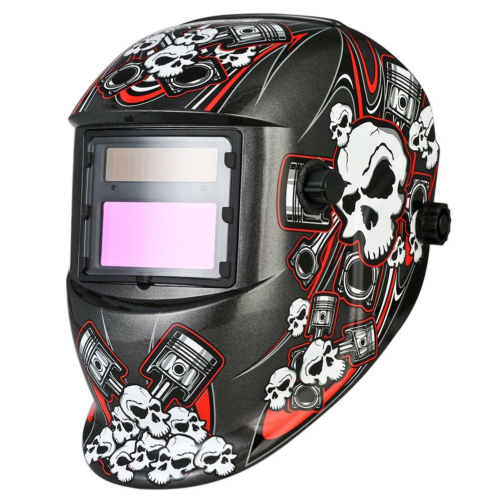 Industrial Welding Helmet Auto Darkening Welding Mask TIG MIG Terminator Solar Powered Grinding Welding\Soldering equipment