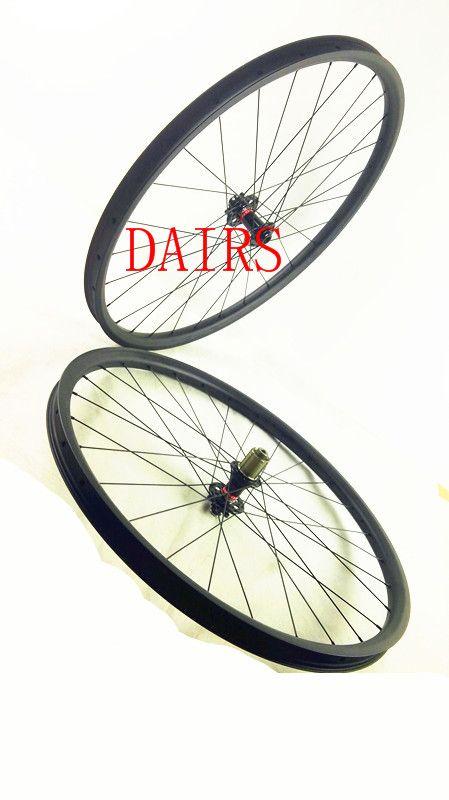 free shipping carbon MTB wheels 29er mtb wheelset MTB bike width 35mm Mountain bicycle MTB wheelset UD matte wheel