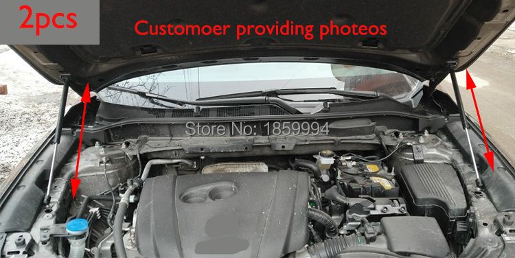 For 2017 2018 mazda cx-5 cx5 KF 2nd refit front hood Engine cover Hydraulic rod Strut spring shock Bar