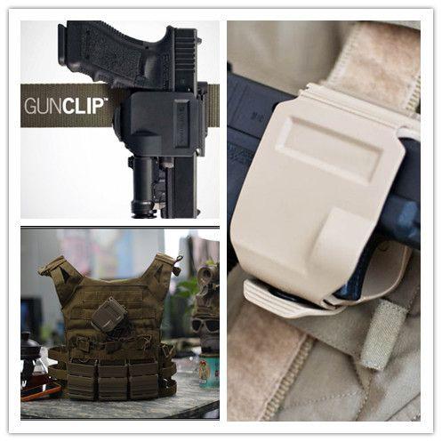 Nouveau CP modèles holster Pour GLOCK 17/22/23 Tactique Airsoft Paintball Chasse Tir Roto Droitier Gun Clip Holster