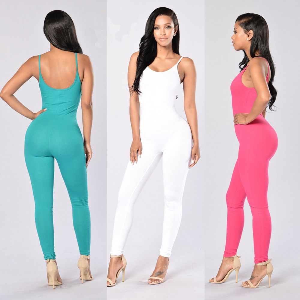 Free Shipping 2016 Summer Fashion Strapless Sexy Rompers Womens Jumpsuit long Bodysuit Women One piece Shorts slim Rompers