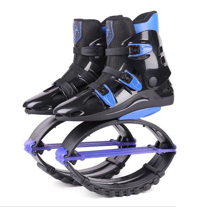 Unisex Fitness Kangaroo Jumping Schuhe, anzug für körper gewicht 70 ~ 110 kg (154lbs-243lbs) größe 19/20 Rebound Bounce schuhe