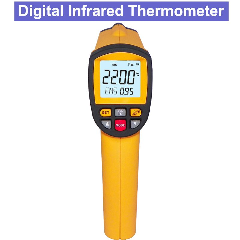 GM2200 Industrial Non-Contact Digital Infrared Thermometer RS-232 with computer software analysis