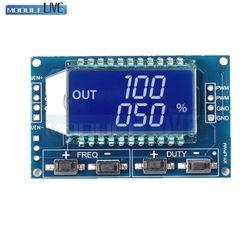 Signal Générateur PWM Fréquence D'impulsion Duty Cycle Réglable Module LCD Affichage 1Hz-150 Khz 3.3 V-30 V PWM Conseil Module