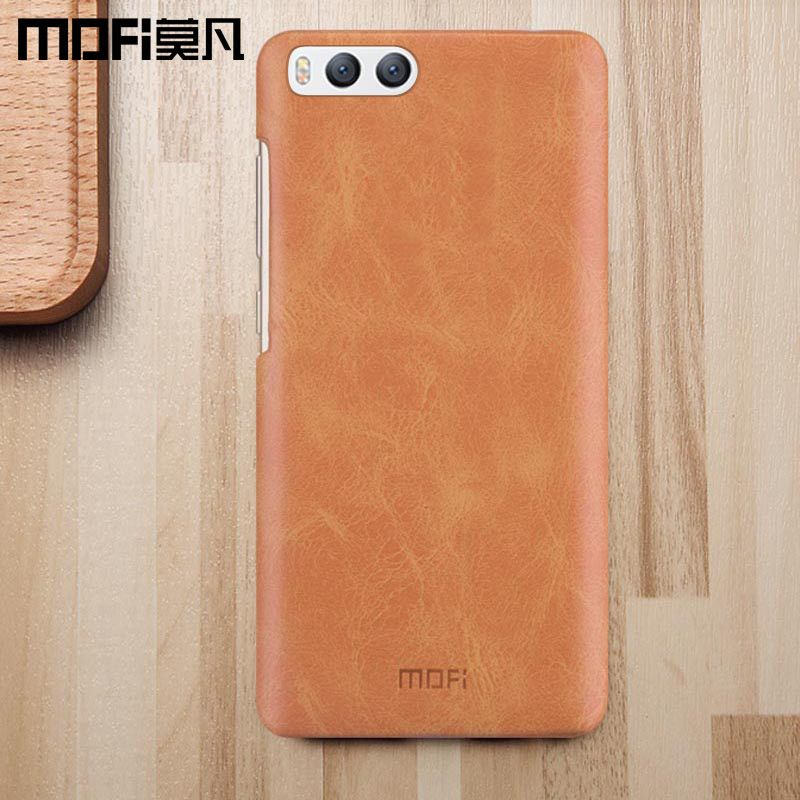 Xiaomi mi6 case mi 6 back cover original case hard leather + PC phone fundas luxury 2017 new MOFi xiaomi mi6 luxury case 5.15