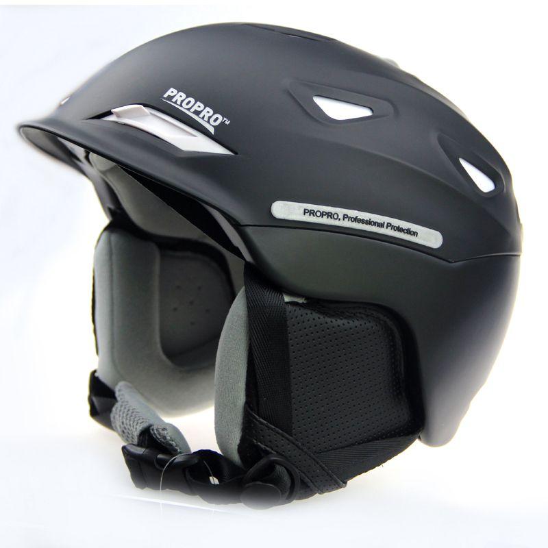 PROPRO new one-piece high-end ski helmet helmet warm hat snow skiing essential veneer double plate