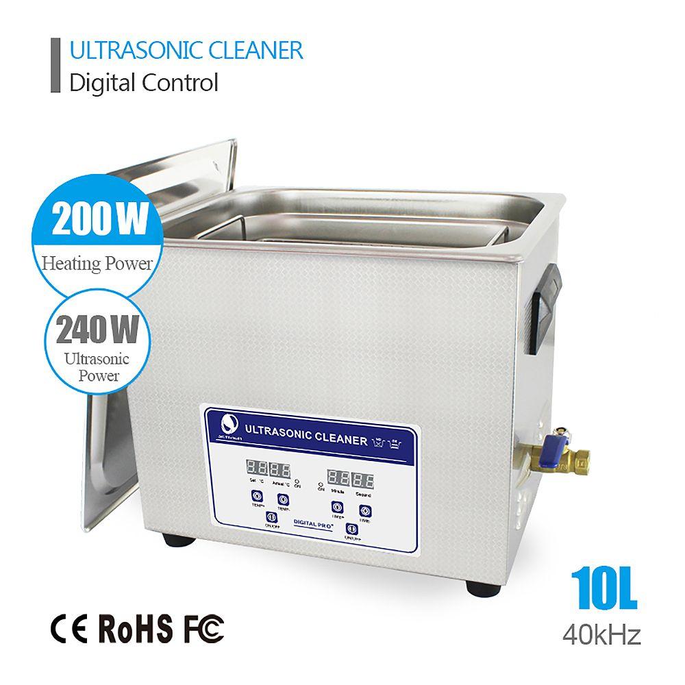 Skymen Neue ankunft Digitale 10 liter ultraschallreiniger 110/220 V ultraschall-bad degas funktion