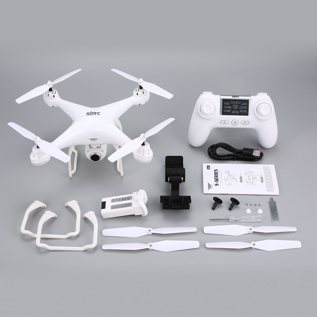 SJ R/C S20W RC drone with FPV 1080P Camera Selfie Altitude Hold Headless Mode Auto Return Takeoff/Landing Hover GPSRC Quadcopter