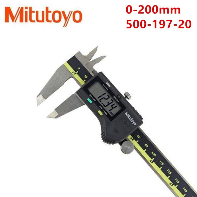 1pc Mitutoyo Digital Vernier Calipers 0-150 0-300 0-200mm LCD 500-196-20Calipers Micrometer Electronic Measuring Stainless Steel
