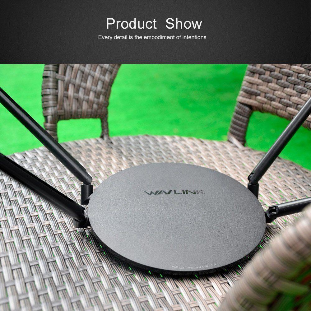 Wifi Routeur 1200 Mbps Sans Fil Smart WI-FI Routeur Répéteur USB Port Double Bande 2.4 ghz/5 ghz 802.11ac Externe antennes App Contrôle