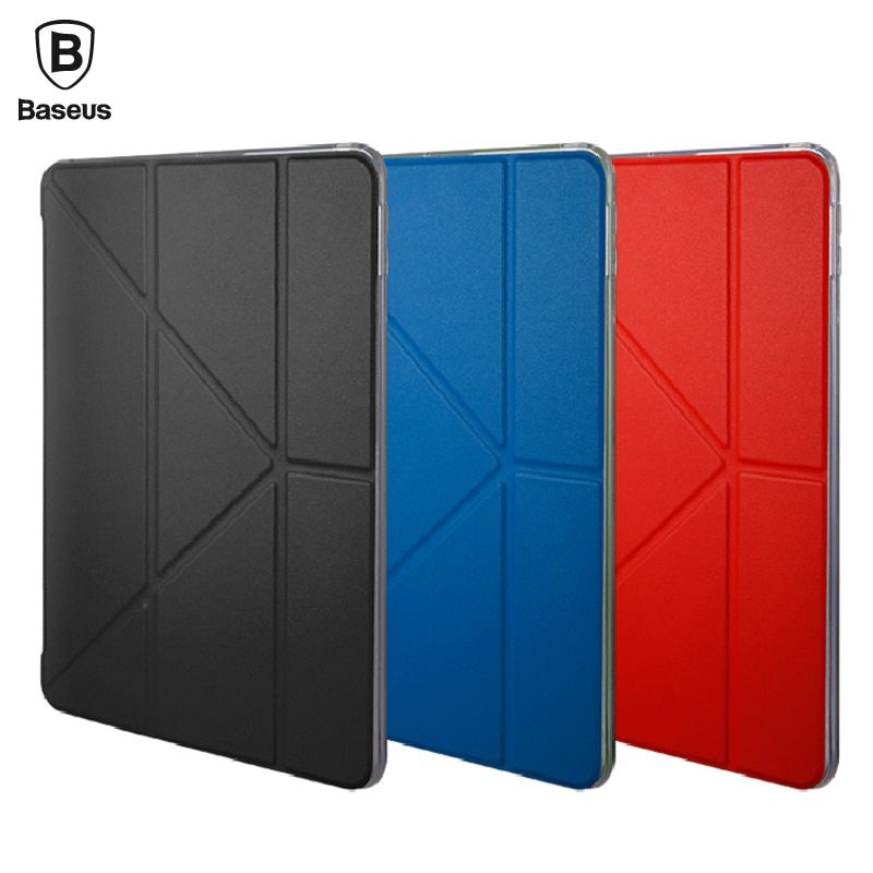 Baseus Leather & Soft TPU Case For iPad 9.7 Pro 10.5 2017 inch Coque Flip Auto Sleep Cover Case For New iPad 9.7 Pro 10.5 A1822