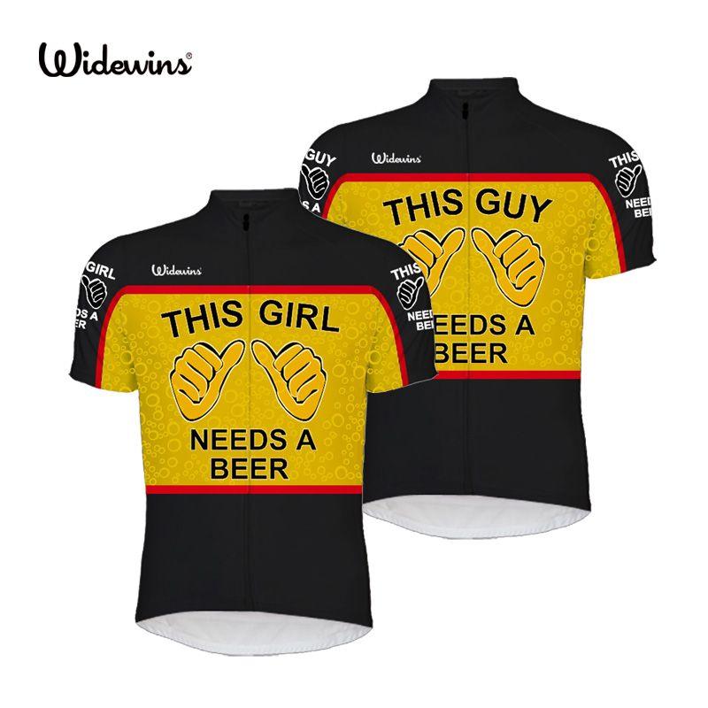 2017 neue Dieser Kerl Braucht Ein Bier Alien SportsWear UNISEX Radfahren Jersey Kleidung Dieses Mädchen Braucht Ein Bier Alien Bike Shirt 8003