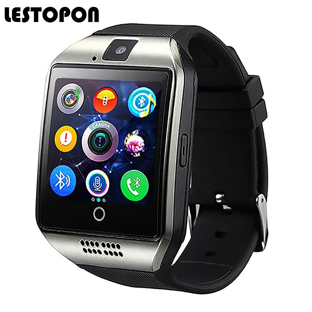 Lestopon Bluetooth Smart часы-телефон мода SmartWatch с Шагомер циферблат вызова мониторинг сна наручные Часы для iOS и Android