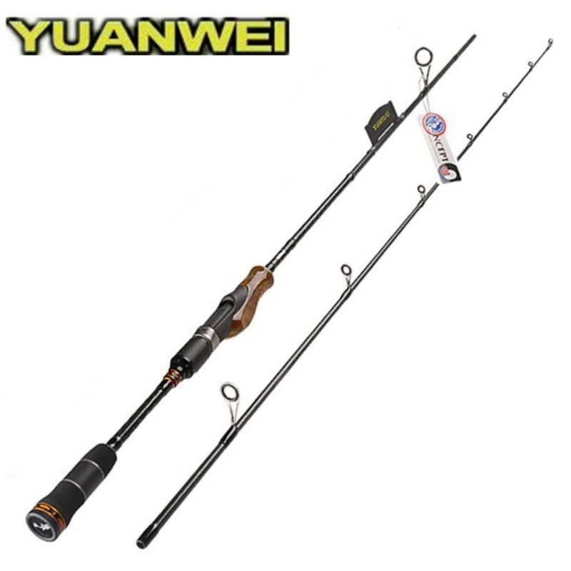 1.98m/2.1m/2.4m Spinning Fishing Rod 2 Section ML/M/MH Power IM8 Carbon Lure Rod Wood Root Handle Vara De Pesca Peche Carpe Olta