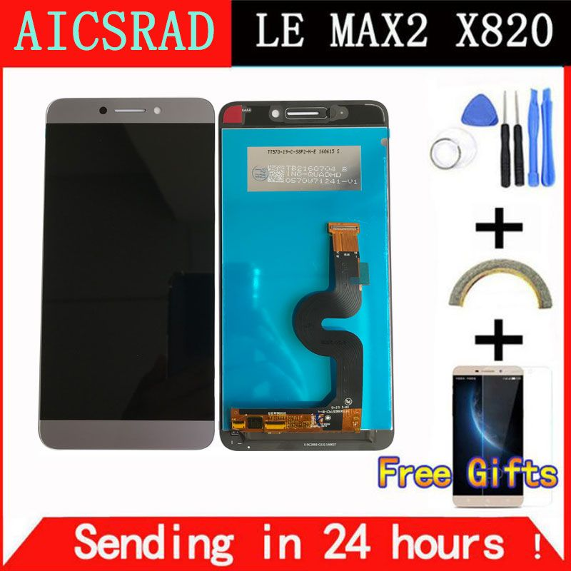 AICSRAD quality For LeEco Le max2 <font><b>x820</b></font> X823 X829 LCD Display Touch Screen Digitizer Assembly For LeEco Le max 2 phone