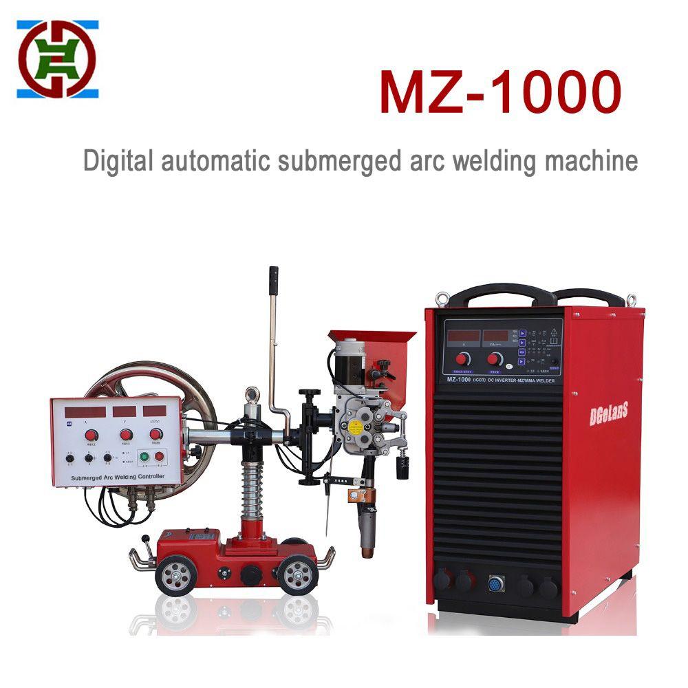 Voll automatische unterpulverschweißen maschine DC MZ-1000