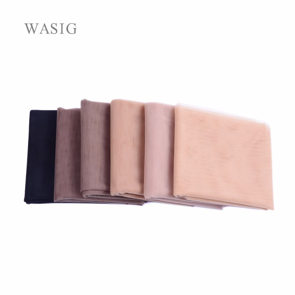 1 yard Swiss Lace Pattern Net for Making Wig Toupee Top Closure Foundation Hair Accessories Monofilament